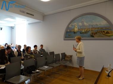 Izglītojošais seminārs muzejpedagogiem Rīgas Biržā