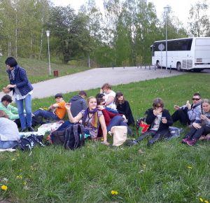 Ciemos Laucienē un pikniks