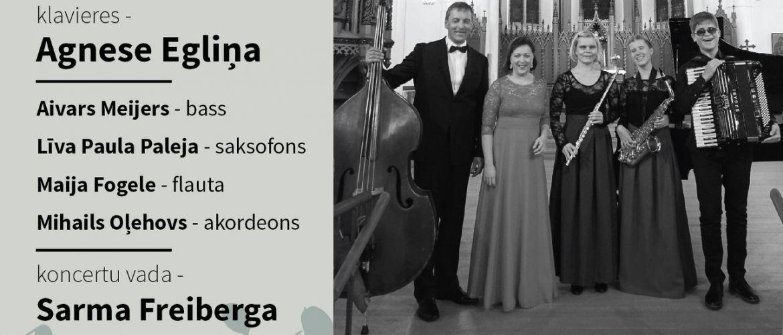 Muzicē Agnese Egliņa un draugi