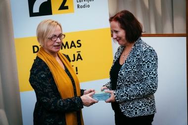 Foto no audiodiska prezentēśanas Latvijas Radio