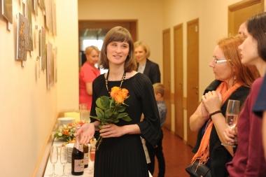 Izstādes atklāšana Jelgavas poliklīnikā              Nāc līdzi fotoistāde-18