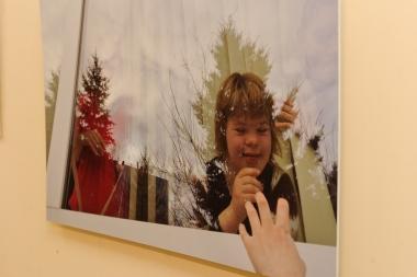 Izstādes atklāšana Jelgavas poliklīnikā              Nāc līdzi fotoistāde-2