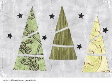 Ziemassvētku kartiņas 2019 Aleksandrovas pamatskola (2)