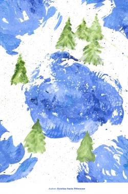 Ziemassvētku kartiņas 2019 Kristīne Santa Pētersone