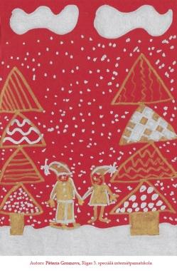Ziemassvētku kartiņas 2019 Rīgas 5