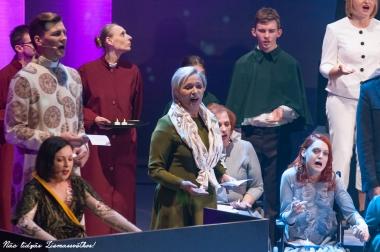 Nāc līdzās Ziemassvētkos! 2018 Nacinālajā teātrī   foto - Ruslans Antropovs