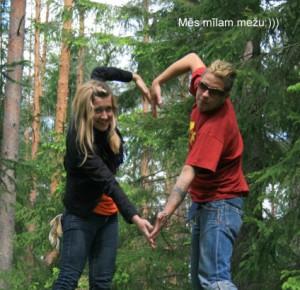 Meža stādīšanas talka 2010