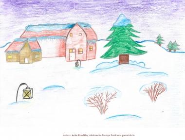 Ziemassvētku kartiņas 2019 Artis Priedītis Raiskuma pamatskola                 Scan 21